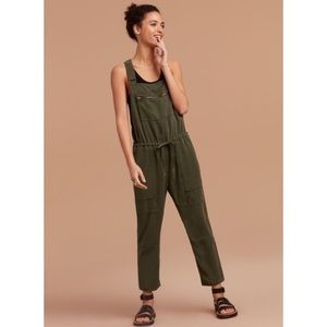 Wilfred Free Olive Green Valletta Overalls Small